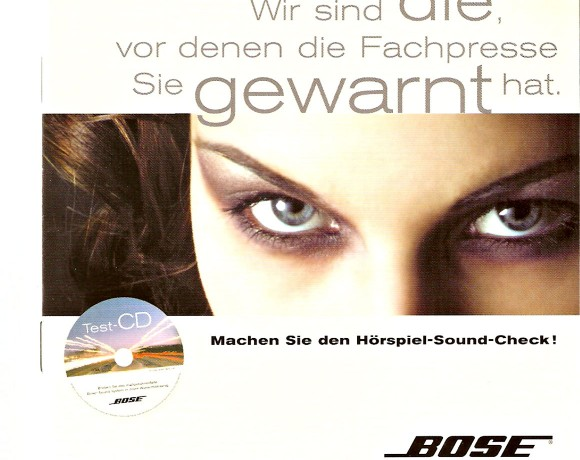 A test CD from BOSE